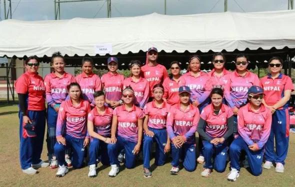 Nepal beat UAE to win third match under ICC Women T20 World Cup Qualifier Asia