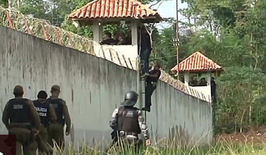 Brazil jail riot in Para state leaves 57 dead as gangs fight