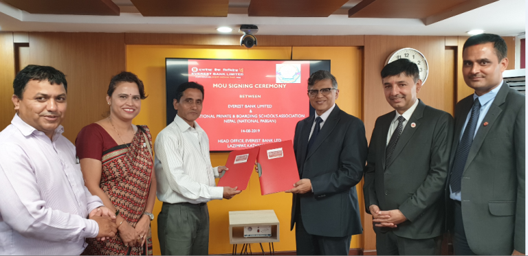 Everest Bank Ltd. goes into collaboration with National PABSAN on Matters of Common Interest