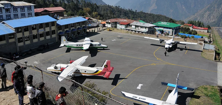 Over 300 tourists stranded in Lukla as bad weather affects flights