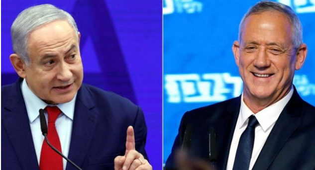 Netanyahu and rival headed for deadlock